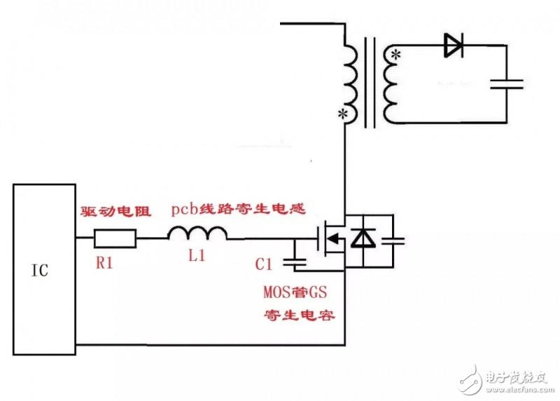 MOS管的GS波形分析
