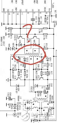 TL494開關電源驅動變壓器怎么設計