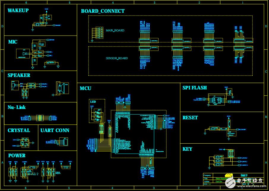 Nuvoton ISD9160带语音功能的物联网开发板方案资料