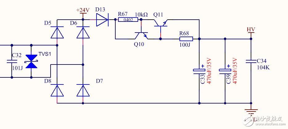 三极管这样连接的作用是什么?