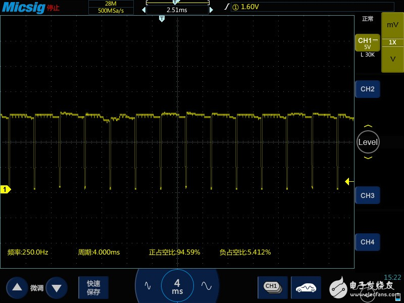 执行器可变气门正时波形汽车示波器测量的方法