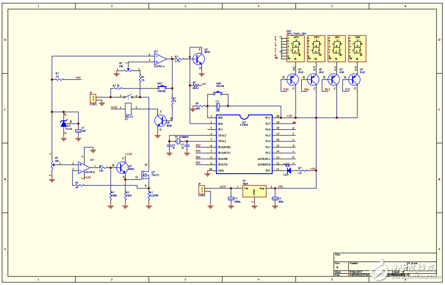 【精品】开关电源充电器电路原理图分享