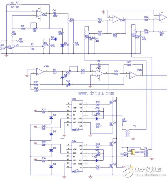 正弦波逆变器的电路图和相关资料