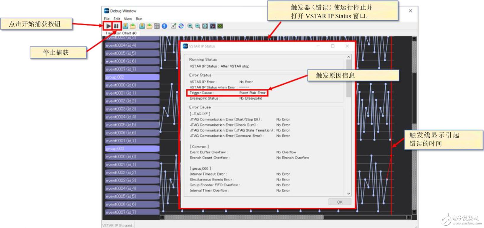 【fpga调试工具】使用vstar监测信号发生顺序|缩短调试周期