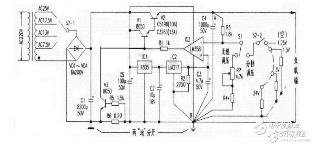 電源工程師必看:可調穩壓電源電路設計大全