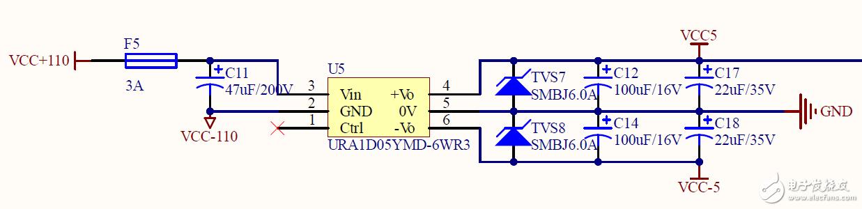 DAC运放导致使负电源不稳定,求救