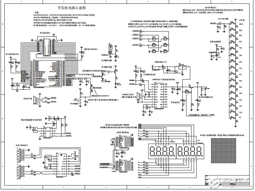 STC15F2K60S2系列学习板电路图资料分享