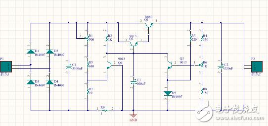 请教各位大佬此稳压电源可分为几个单元?每个单元的作用是什么?