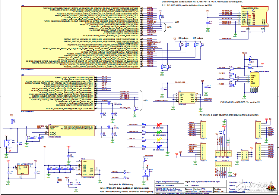 【开源资料】MicroPython开发板(原理图+PCB+源代码)