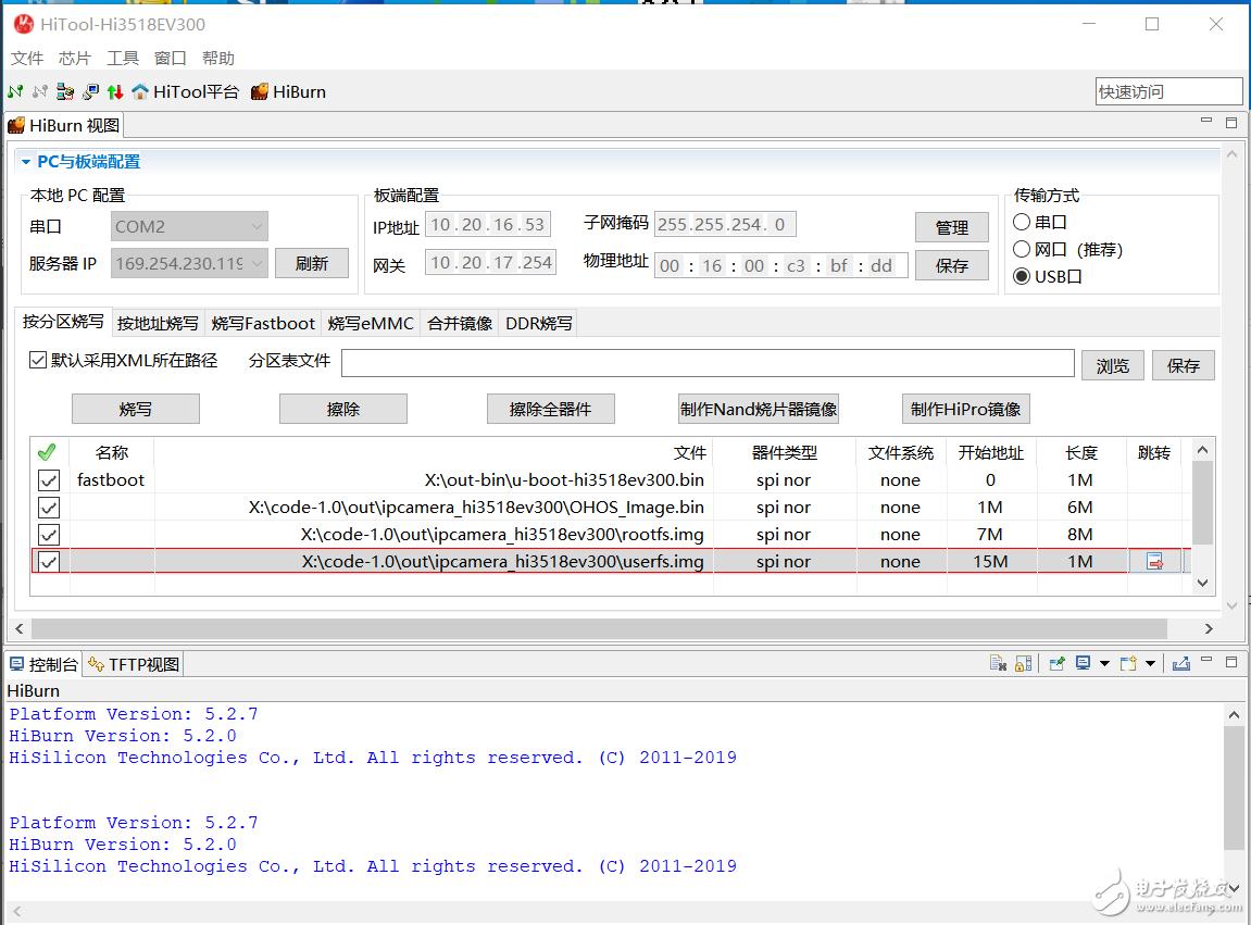 【HarmonyOS HiSpark IPC DIY Camera试用连载 】第一个应用程序Hello OHOS编译和烧写