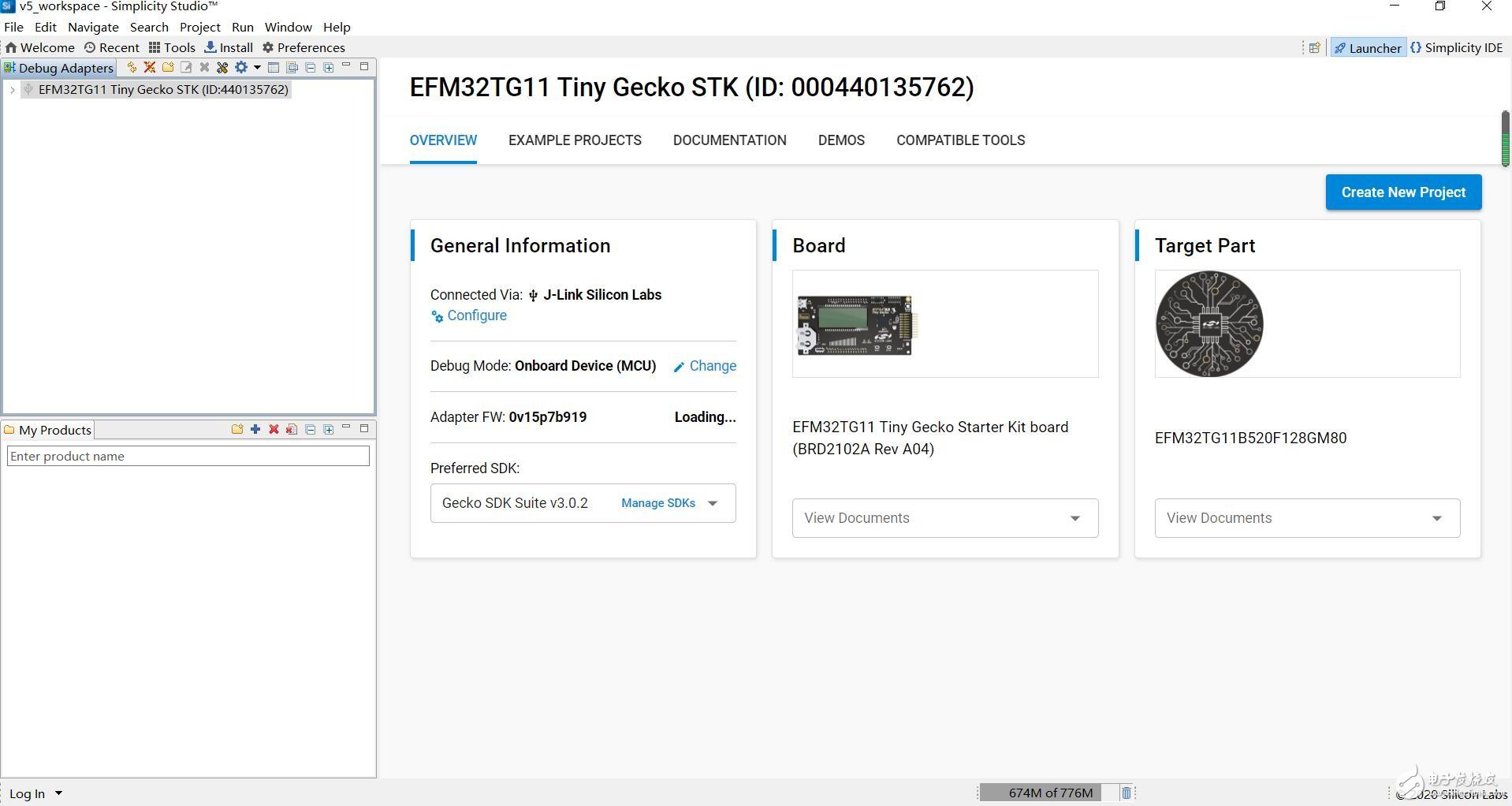 【益登科技代理 Silicon Labs SLSTK3301A開發板試用體驗】+搭建環境運行例程