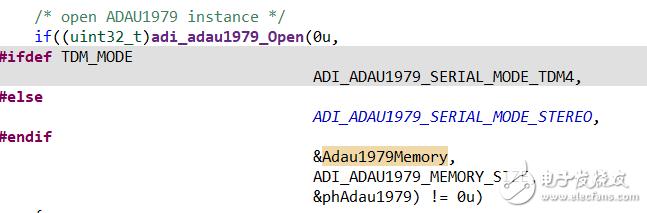 使用ADI芯片,官方例程中在初始化中都会设置一块内存区域,请问其作用是什么?