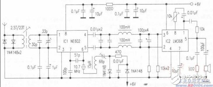 关于制作使用NE602芯片接收机的一些问题