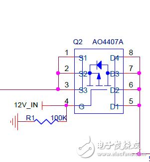 AO4407A S1 S2 S3 是幾個獨立的源極?