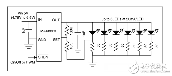 如何利用低成本线性稳压器改善白光LED?