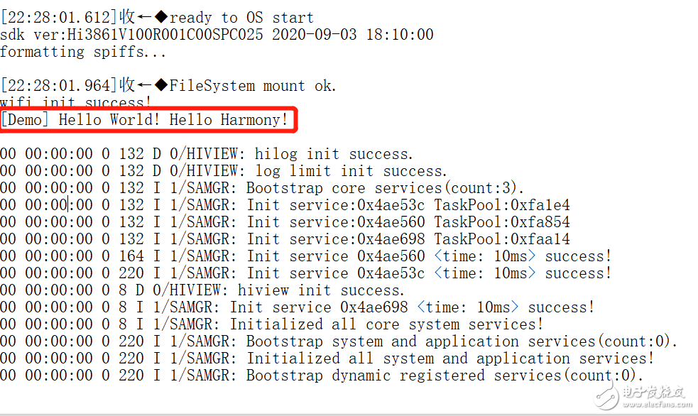 【HarmonyOS_Hi3861学习笔记】【连载】--第一个项目--串口打印 Hello World