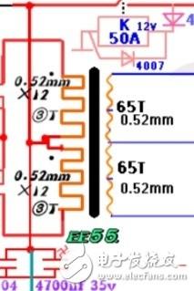 变压器绕线有图纸,求怎么绕法?