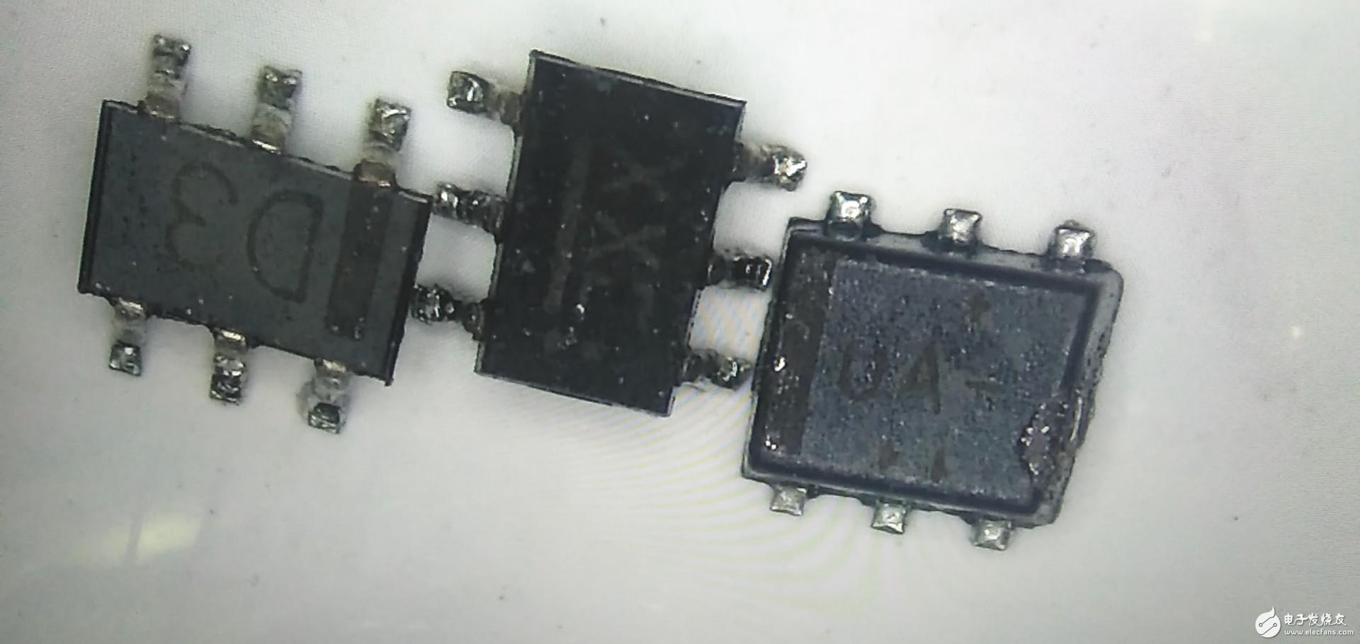 这几款是什么芯片,请问谁有用过,请大侠指教下