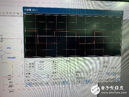 如图电路,怎么做才能把这个波变成方波,怎么延长电平时间