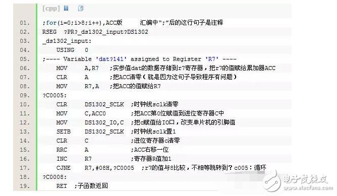 单片机上for循环中运用ACC的隐蔽错误解析