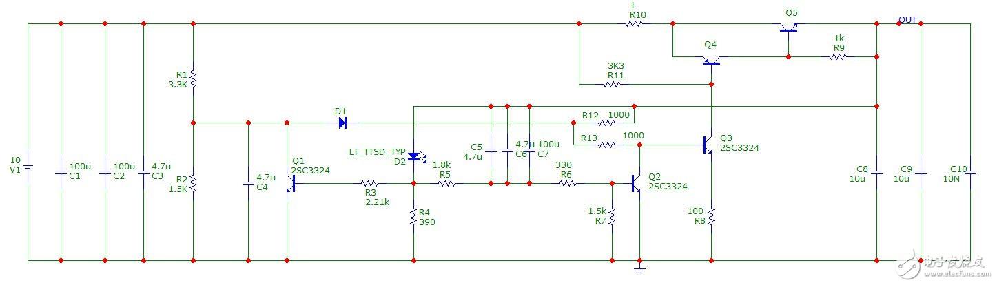 模拟大拿,请帮助分析这个模拟电路