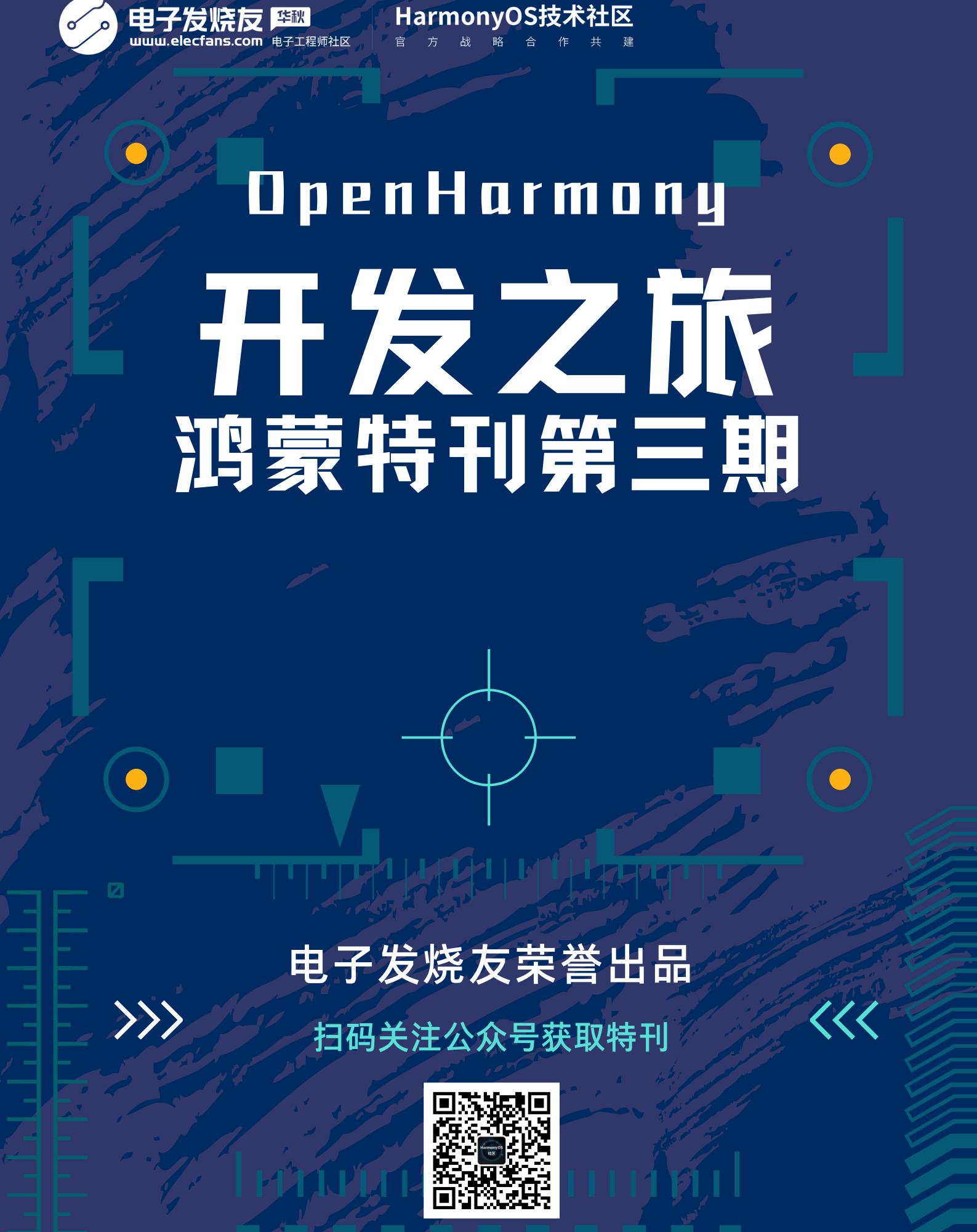 HarmonyOS特刊——第三期上线啦!!!