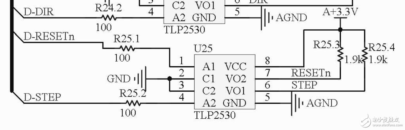 使用STM32驱动电机,光耦有PWM输入,但无输出