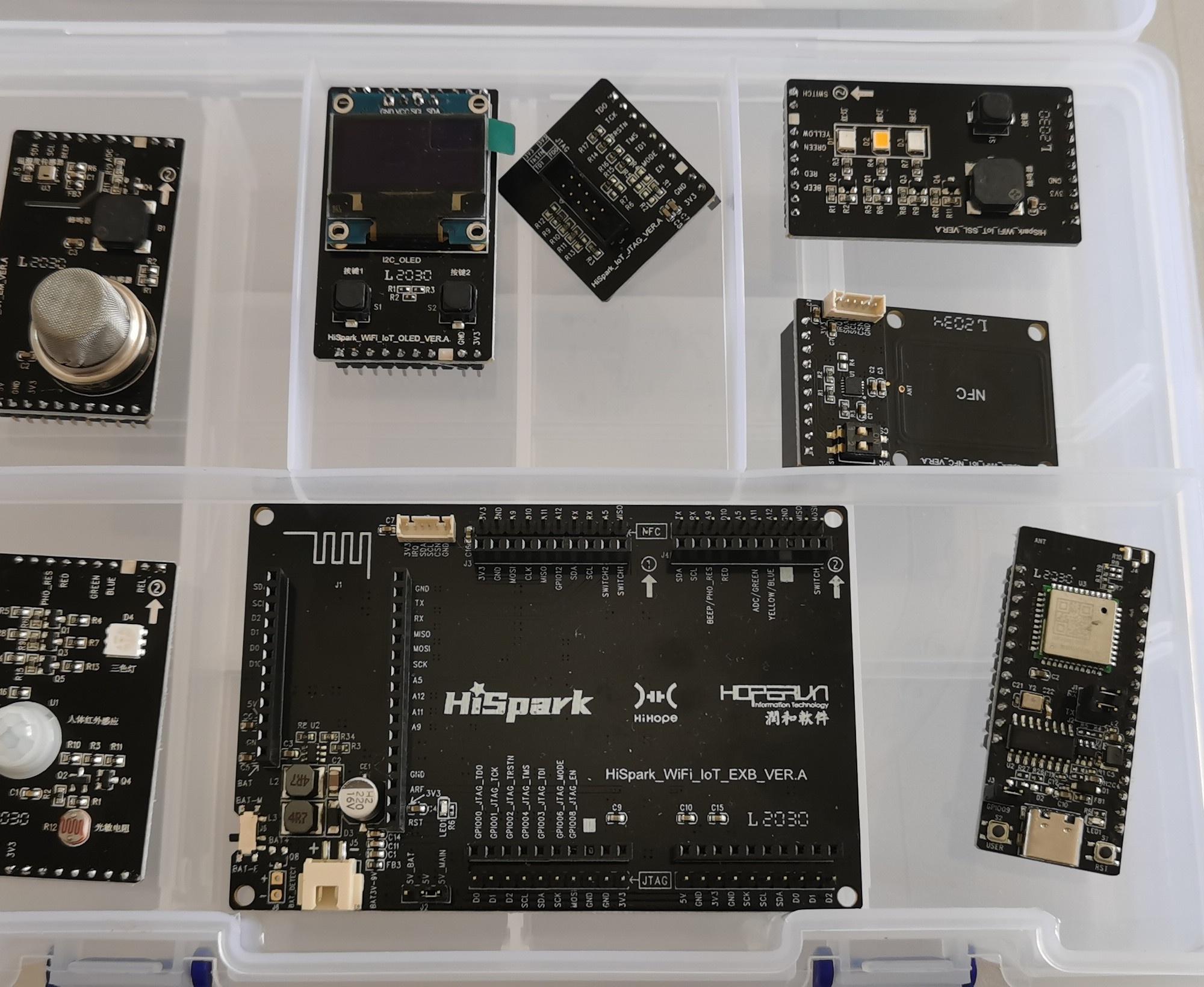 【HarmonyOS HiSpark Wi-Fi IoT 套件试用连载】Hi3861开发板开箱及环境搭建