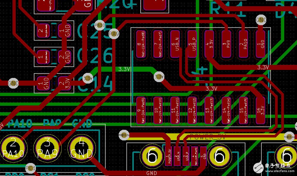 自焊电路板,USB+CH340C模块电脑无法识别???