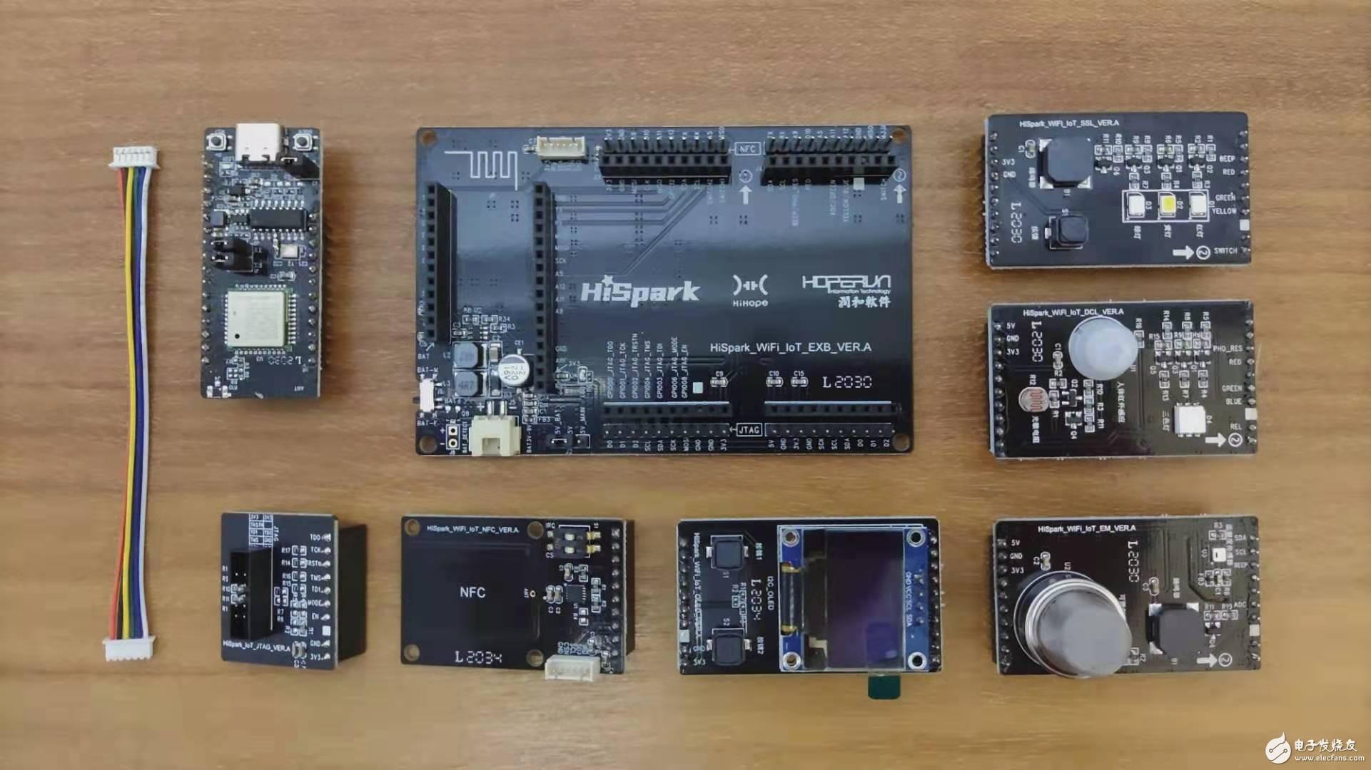 【开箱】HiSpark WiFi-IoT 开发套件