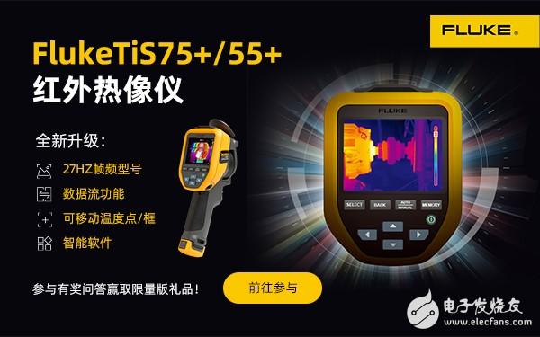 FlukeTiS75+/55+ 红外热像仪全新发布,答题抽奖等你来!