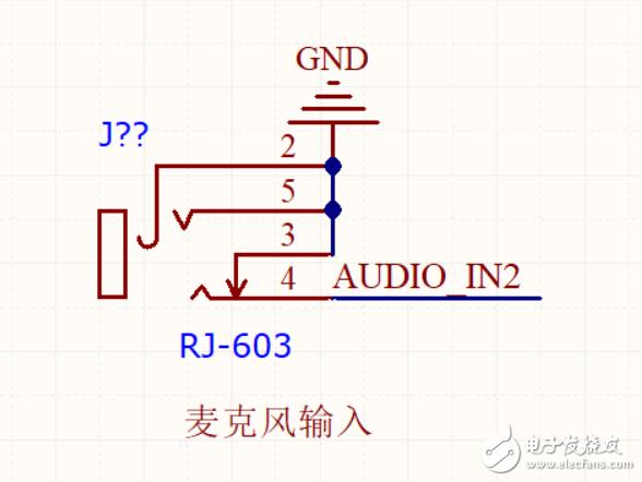 6.35音频座子接线