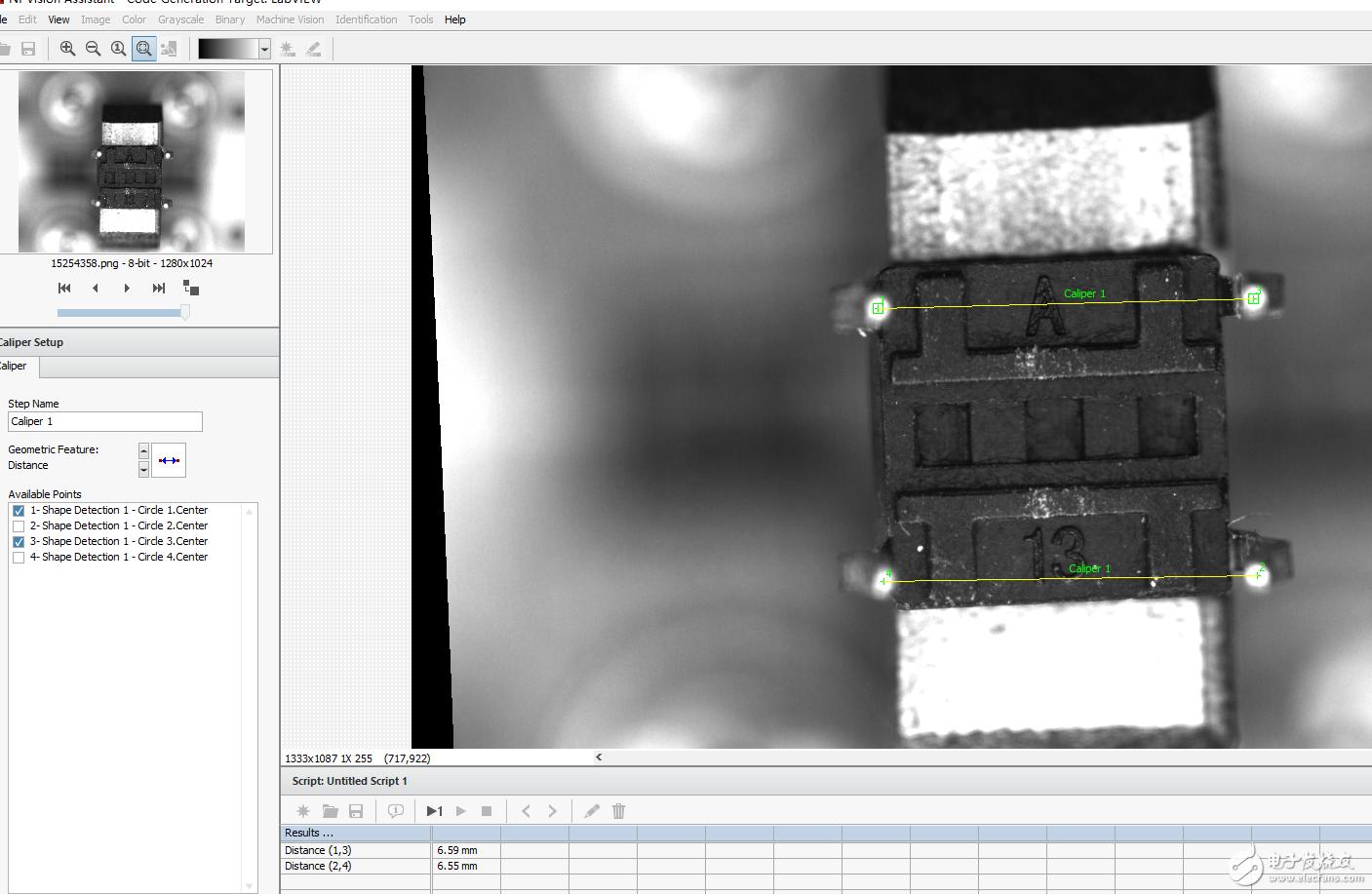 不用模板匹配,换成卡尺,自己进行计算得到偏移量和旋转角度?