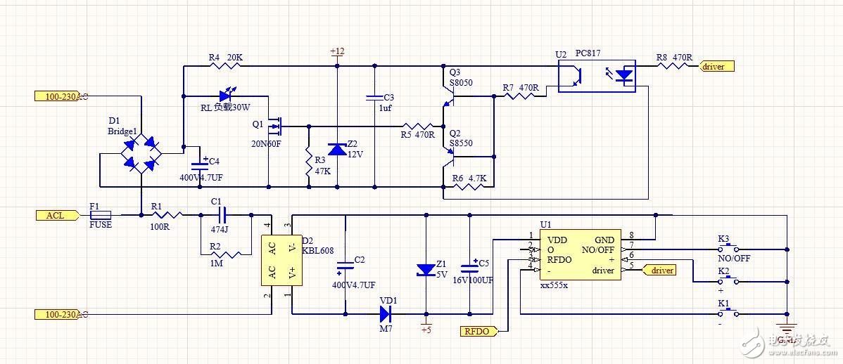 如何简化这个电路