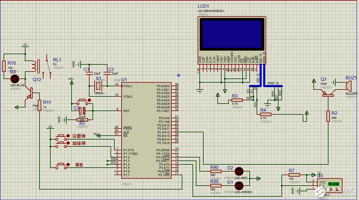 OLED实物测试没有反应,单片机制作的原理图的PCB板绘制有错误吗