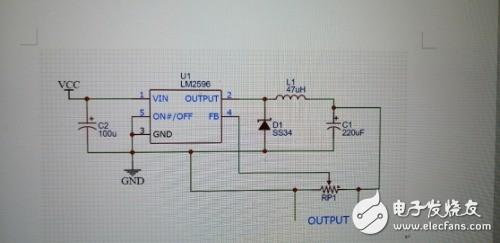 求以下电源降压模块原理图具体原理描述