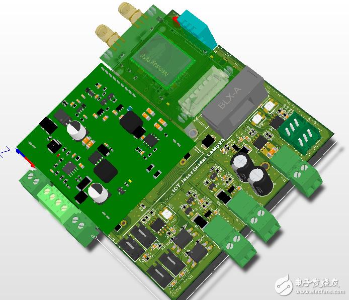 (实战设计)太阳能物联网灭虫灯主板VT4