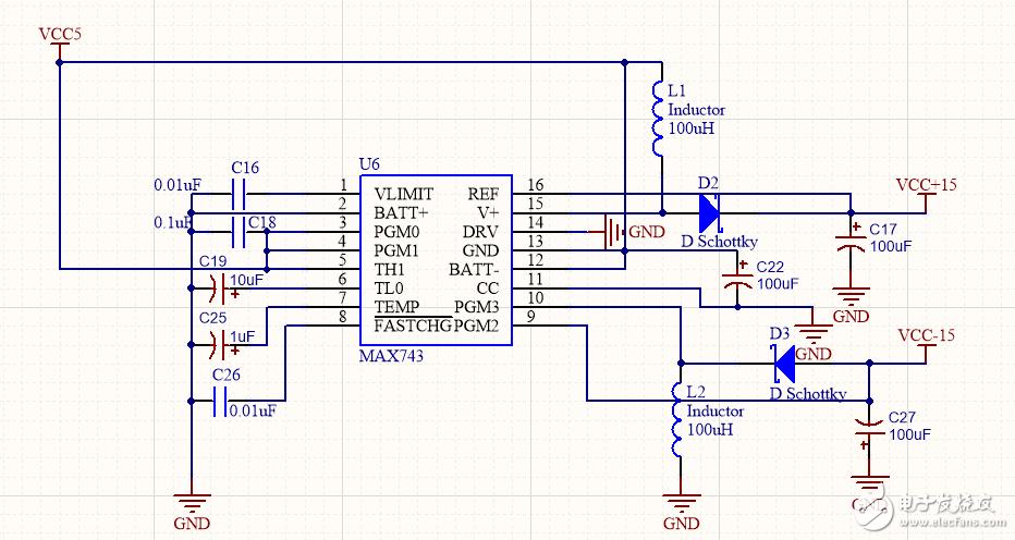 利用MAX7435芯片5V轉±15V,輸出不正常,求大佬解答哪里出了問題呢?