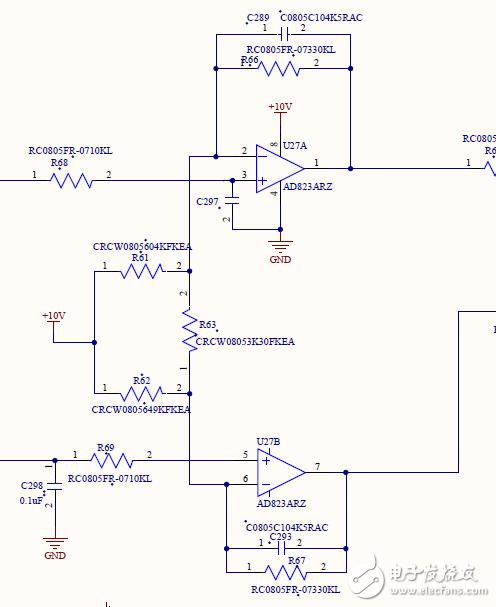 這個運算放大器的作用是什么?為什么這樣設計?