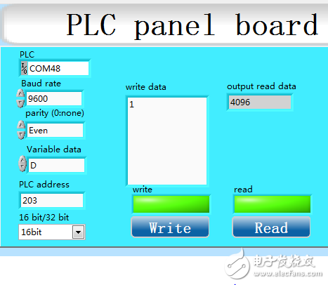 labview   与plc  通讯