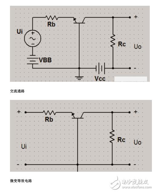 晶体管三种基本接法的比较
