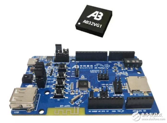 中科藍訊AB32VG1 RISC-V開發板來了!