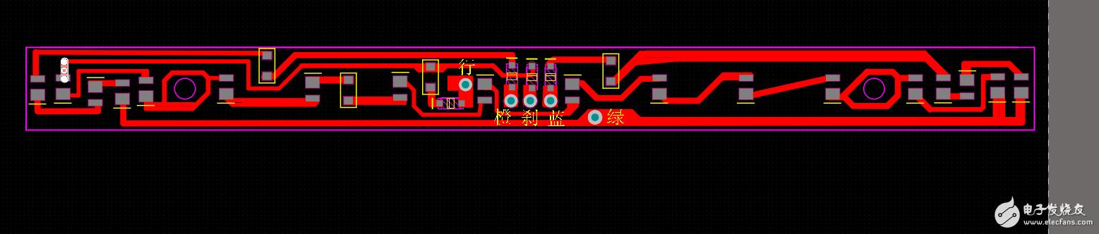 60V-72V电动车LED灯出现点亮一点时间后行车灯和刹车灯熄灭