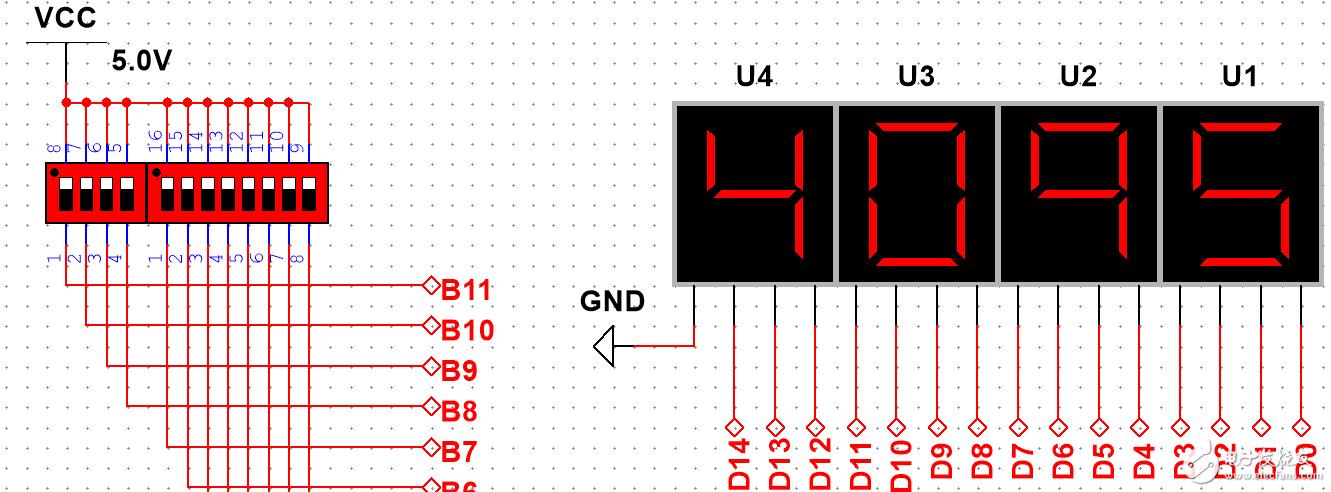二进制转十进制(BCD)电路:大全