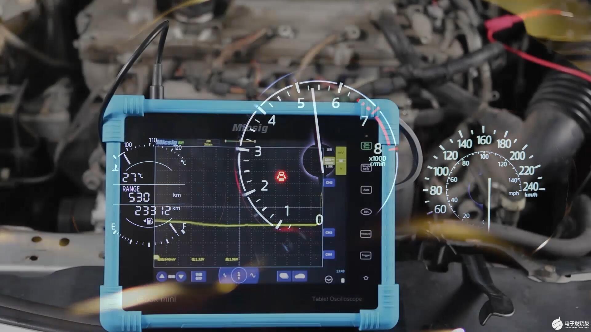 示波器诊断汽车维修各类传感器执行器等信号视频集分享(长期更新)