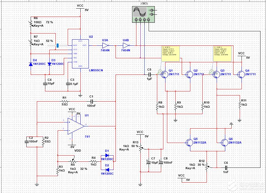 3部分电路单独仿真可以运行,但组合在一起却出现仿真错误