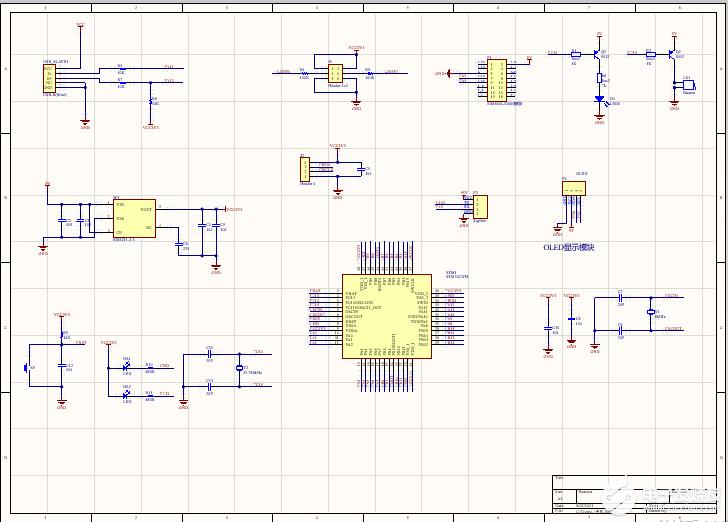 基于ZIGBEE的空气环境监测系统的设计(毕设)