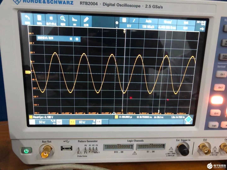 關于逆變產生的正弦波波形,想請教一下