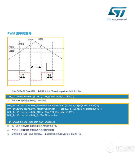 【資料】用于電機控制單電阻采樣PWM變形信號產生(技術文章+C程序代碼)