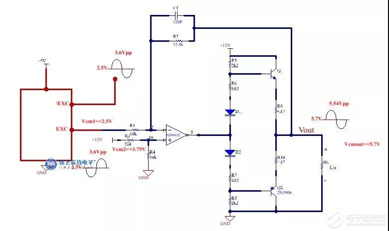 新能源汽车旋转变压器驱动电路总结